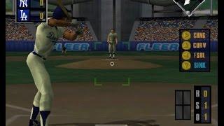 All Star Baseball 99 (NINTENDO 64) NY Yankees and LA Dodgers