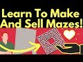 Learn How To Make And Sell Printable Mazes Online