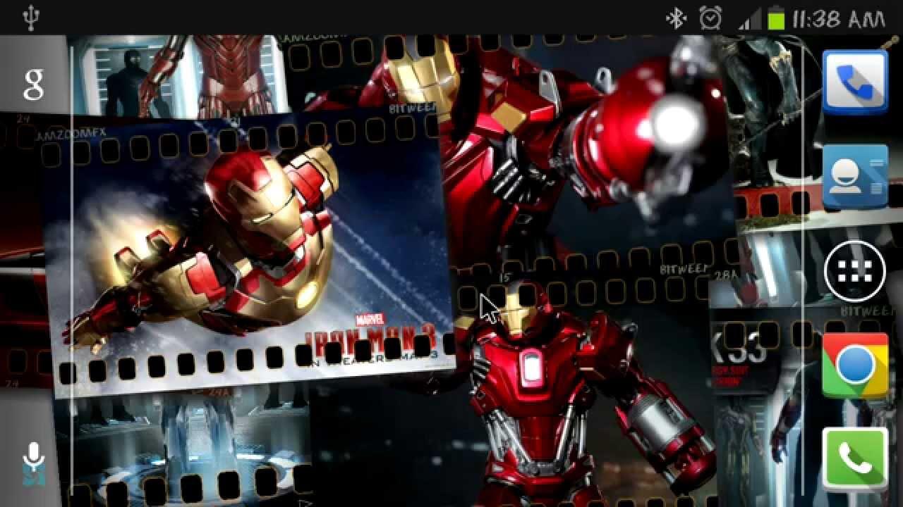 5 excelentes fondos de pantalla animados para tu android - Fondos de pantalla de iron man en 3d ...