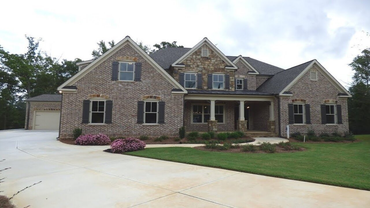 Executive 5 Bedroom Home For Sale In Atlanta Golf Course Community Youtube