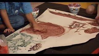 РИСОВАНИЕ ПАЛЬЧИКАМИ и ЛАДОШКАМИ 👆 Пальчиковое Рисование для Детей | Советы Родителям 👪