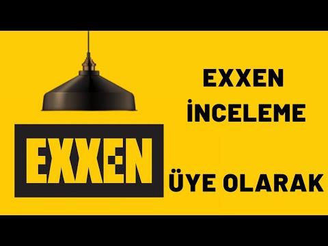 EXXEN İNCELEME / EXXEN TV ÜYE OLUP İNCELEME