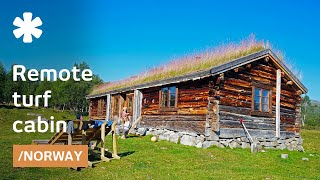 Norwegian abandoned remote turf house becomes cabin getaway thumbnail