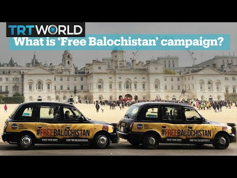 What is the 'Free Balochistan' movement?
