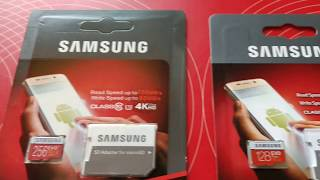 Fake Vs Real Samsung EVO Plus Micro SD Cards