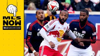 Thierry Henry ready for first game on New England Turf | MLS Now