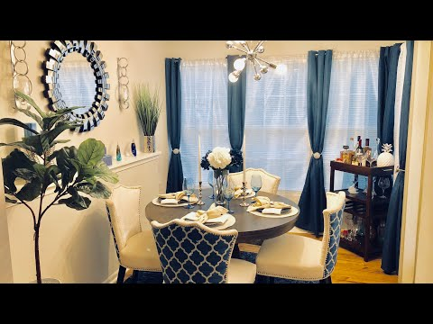 CASUAL GLAM DINING ROOM MAKEOVER REVEAL!!