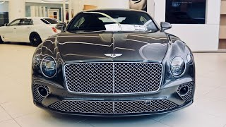 2020 Bentley Continental GT V8 Coupe Walkaround + Cold Start! ($6,000 ROTATING DISPLAY!)