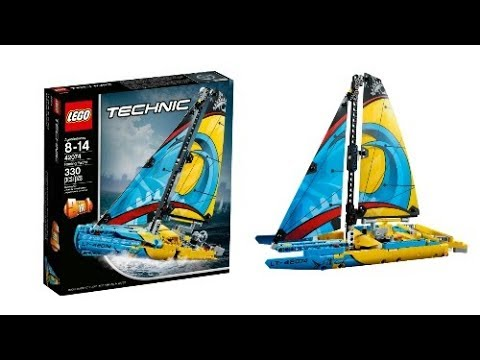 lego news new lego technic winter 2018 racing yacht set. Black Bedroom Furniture Sets. Home Design Ideas