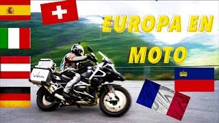 EUROPA EN MOTO - EUROPE IN MOTORCYCLE - BMW