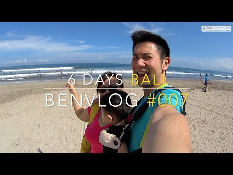 Baby Evan's 6 days 5 nights in Bali, Indonesia