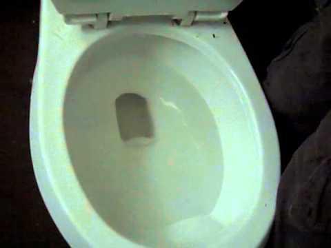 2356 1990 American Standard Cadet Pressure Assist Toilet