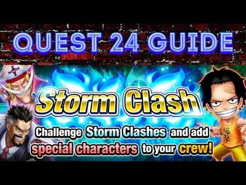 [OPTS] Guide for Quest 24 on Storm Clash mode - One Piece Thousand Storm
