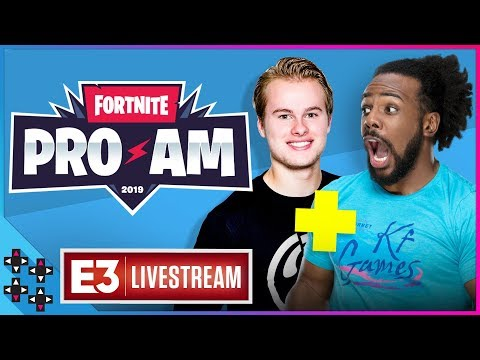 Fortnite Pro-Am Tournament – Austin Creed & Royalistiq team-up for Victory Royale!