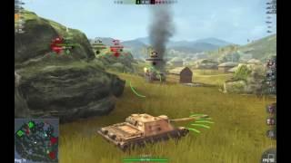 World of Tanks Blitz (Win 10): SU-122-44 (Part 4 - AMBUSH!!!)