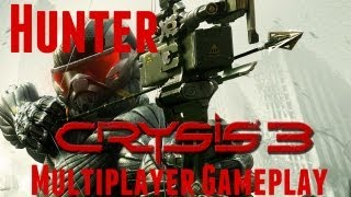Crysis 3 - Multiplayer Beta - Hunter Mode Gameplay Console (PS3/360) (HD)
