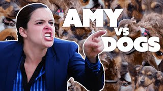 Amy Santiago VS Man's Best Friend | Brooklyn Nine-Nine | Comedy Bites