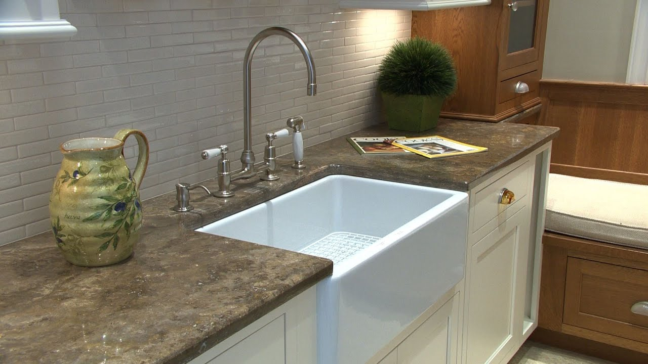 sinks kitchen countertops cost per square foot buying a new sink advice consumer reports youtube