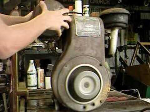 Wisconsin Aen Engine Starting Youtube