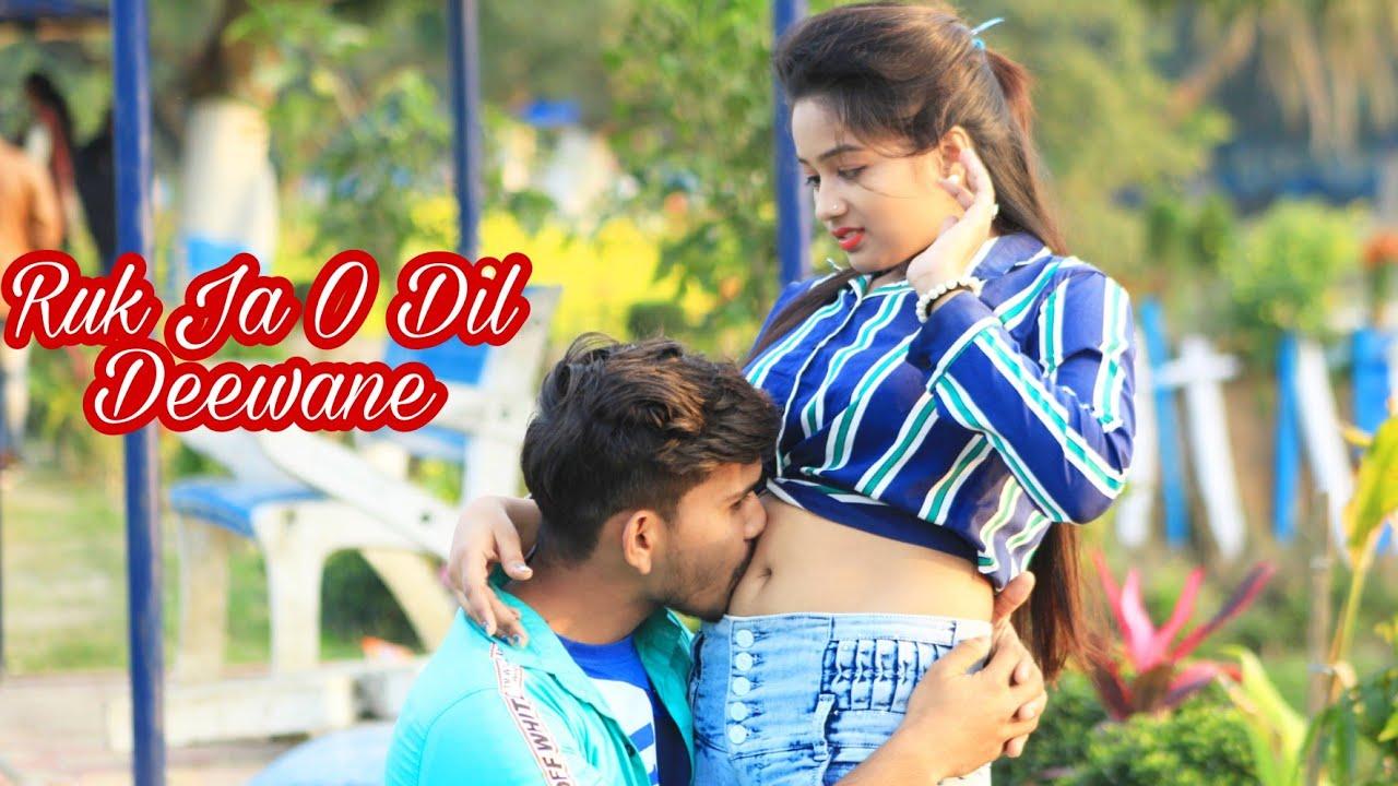 Ruk Ja O Dil Deewane |Shahrukh Khan |DDLJ | Cute Lovestory | Hindi Super Hit Song | Dark Heart