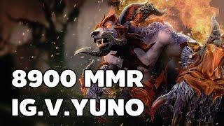 8900 MMR Ursa Dota 2 By IG.V.Yuno
