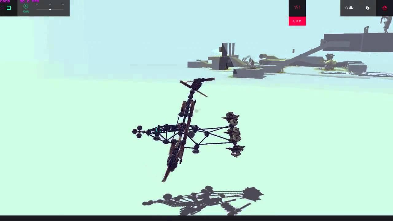 besiege 飛行機