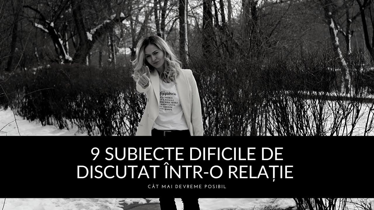 9 Subiecte Dificile De Discutat Într-o Relație   Dezvoltare personală