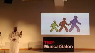 Walking the talk    Ghassan Fadhal Bait Bin Saleem   TEDxMuscatSalon