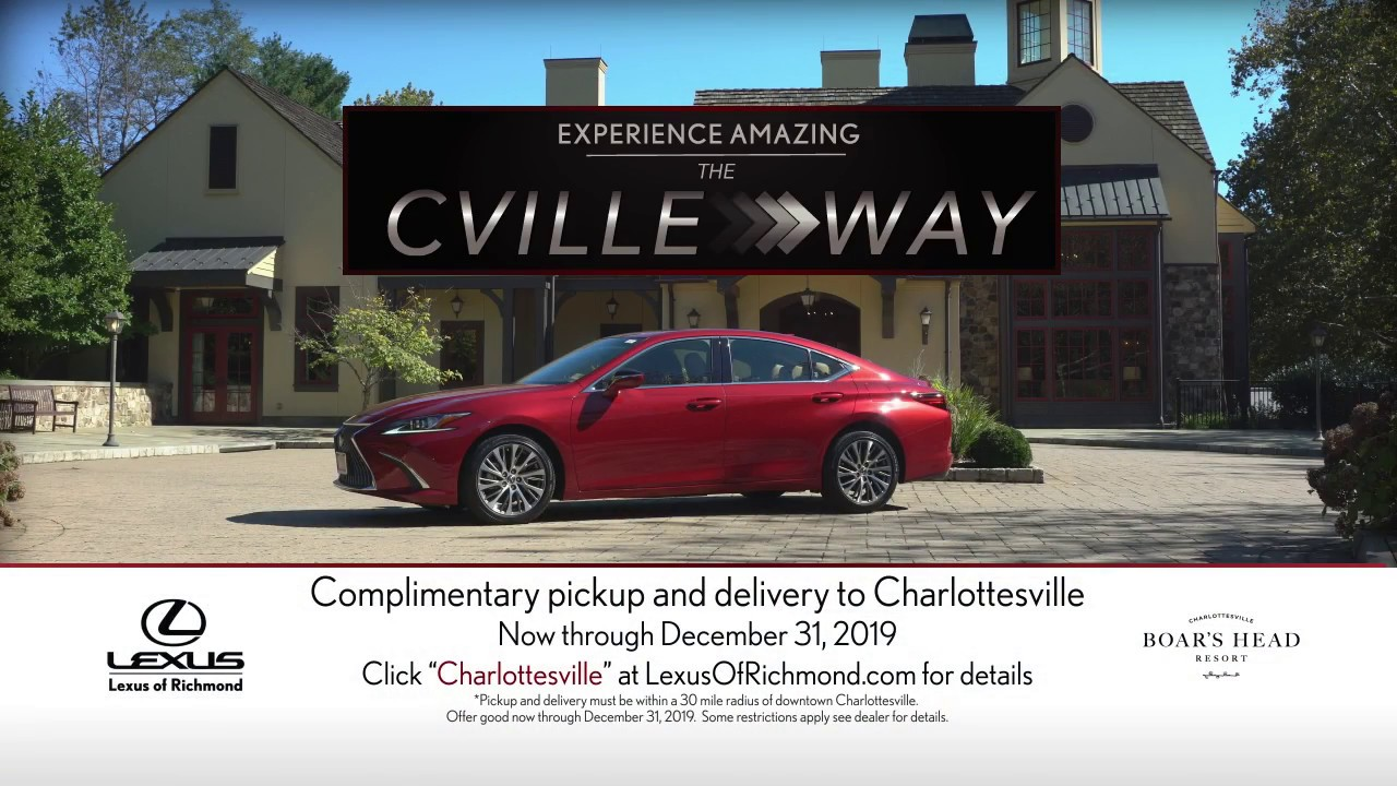 lexus of richmond - experience amazing the cville way! - youtube