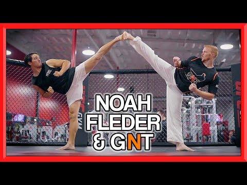 Taekwondo Tricking Sampler | Noah Fleder & GNT  | Flips & Kicks