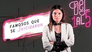 Anthony Bourdain, Avicii y otros famosos que se suicidaron | Del 1 al 5 | El Espectador