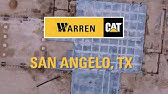 Warren CAT Oklahoma City Parts Warehouse Expansion - YouTube