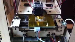 DIY 3D Printer Printing Video