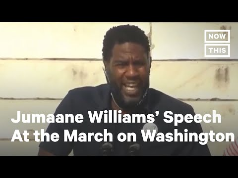 Jumaane Williams Delivers Stirring Speech at 2020 March on Washington | NowThis