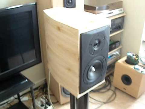 DIY bookshelf speakers sonus faber likeScanspeak