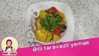 Ətli Tərəvəzli Yemək (etli Sebzeli Yemek)(мясные и обошные блюда)