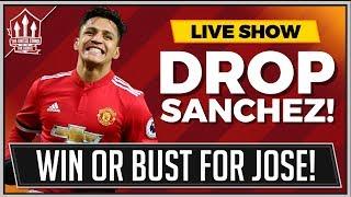 Man united vs tottenham fa cup | mourinho must drop alexis sanchez!