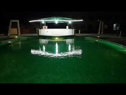 Live  Video For The Pool At Night , Upload By VTGooo
