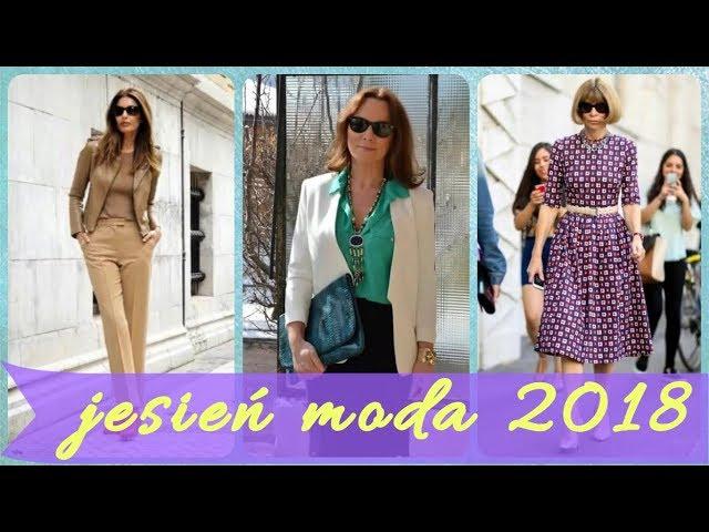? ? ? Moda dla 50 latki jesie? 2018 - 2019 ? ? ?