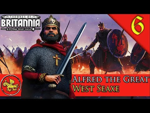 ANGLO-SAXON CONFEDERATION! WALES WAR! Total War Saga: Thrones of Britannia: West Seaxe Campaign #6