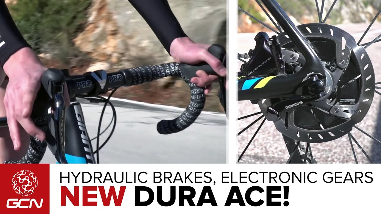 New Shimano Dura Ace 9170 Groupset Electronic Shifting Hydraulic