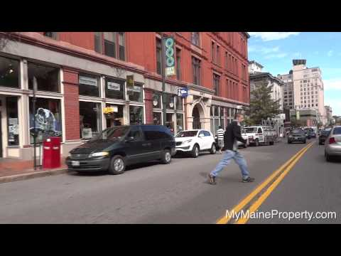 Downtown Portland Maine Real Estate Video Tour
