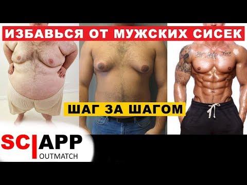 Как убрать грудь у мужчин