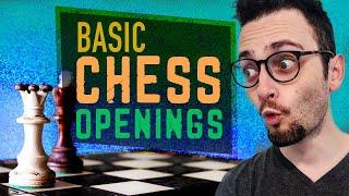 Basic Chess Openings Explained