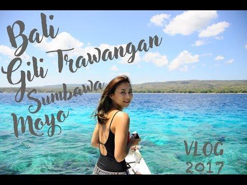 TRAVEL VLOG | Bali-Gili Trawangan-Sumbawa-Moyo Trip 2017 | NADIA JACOB