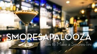 Smoresapalooza 2013 - How To Make A Smores-tini