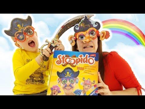 Sfida A Stoopido - Challenge Da Tavolo Per Bambini Creativi
