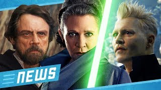 Star Wars Luke lebt doch? & Grindelwald ruiniert Potter Timeline  - FLIPPS News