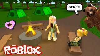 Baby Goldie Camping Fail à Bloxburg - Roblox Roleplay Titi Games
