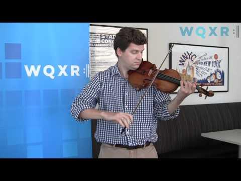 WQXR Café Concert: James Ehnes plays Bach: Partita No. 3, Preludio and Gigue